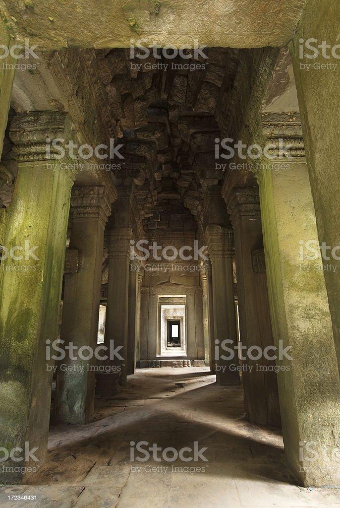 Angkor Wat - Phreah Khan Entrance royalty-free stock photo