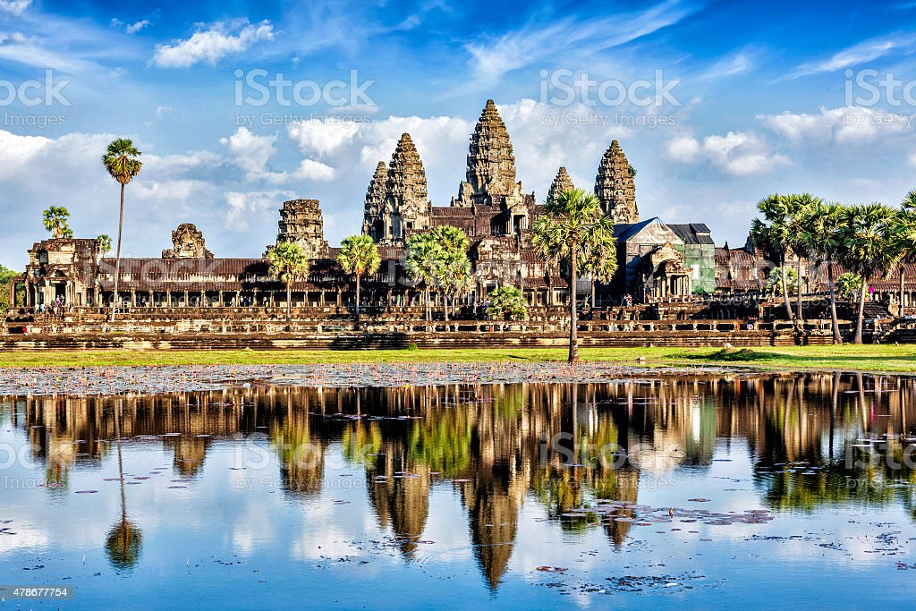 Angkor Wat stock photo