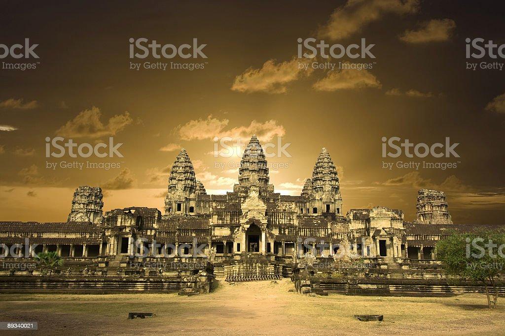 Angkor wat. royalty-free stock photo