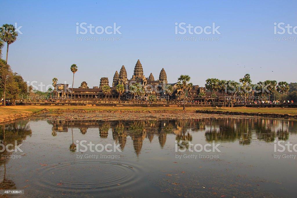 Angkor wat, Siem reap, Cambodia royalty-free stock photo