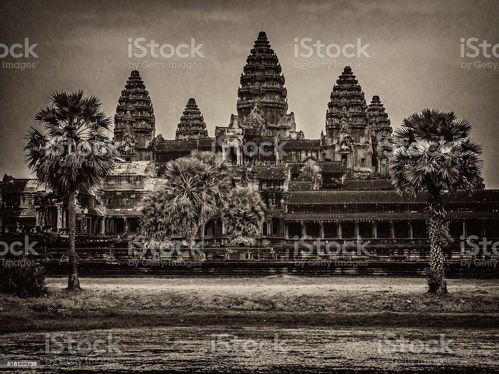 Angkor Wat temple Cambodia stock photo