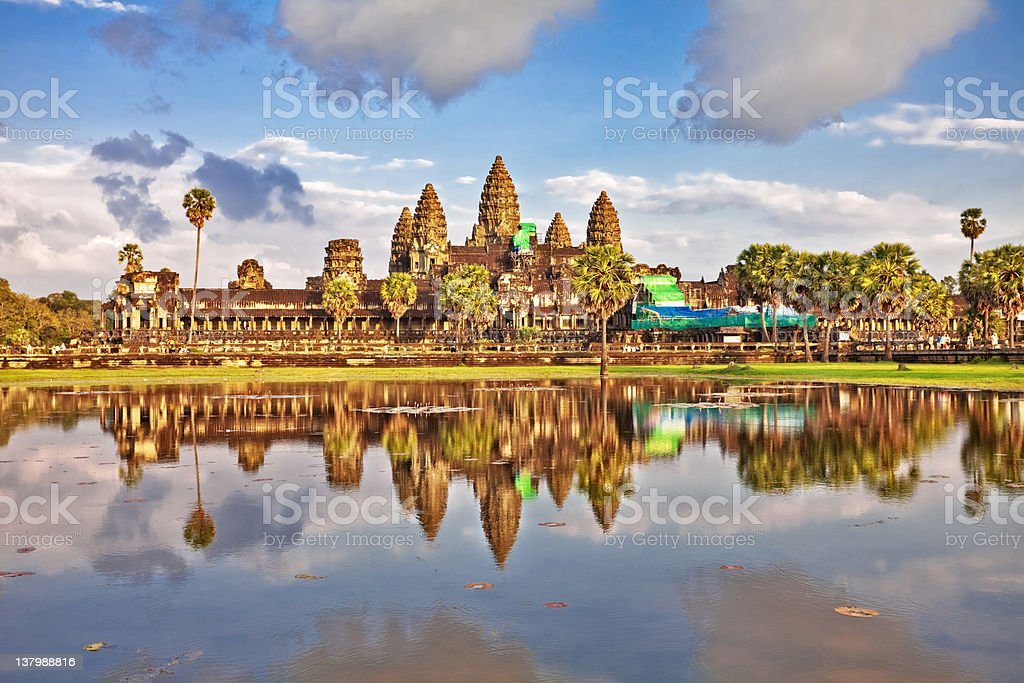 Angkor Wat Temple royalty-free stock photo