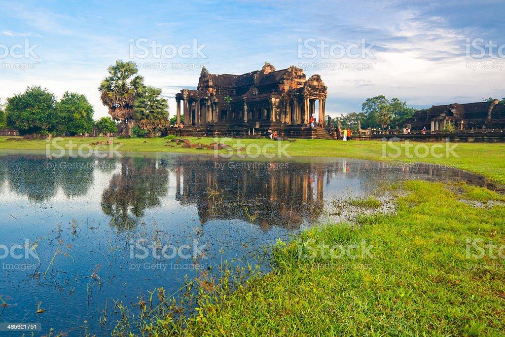 Angkor wat,siem reap ,Cambodia stock photo