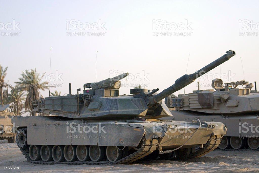 Angle Tank royalty-free stock photo