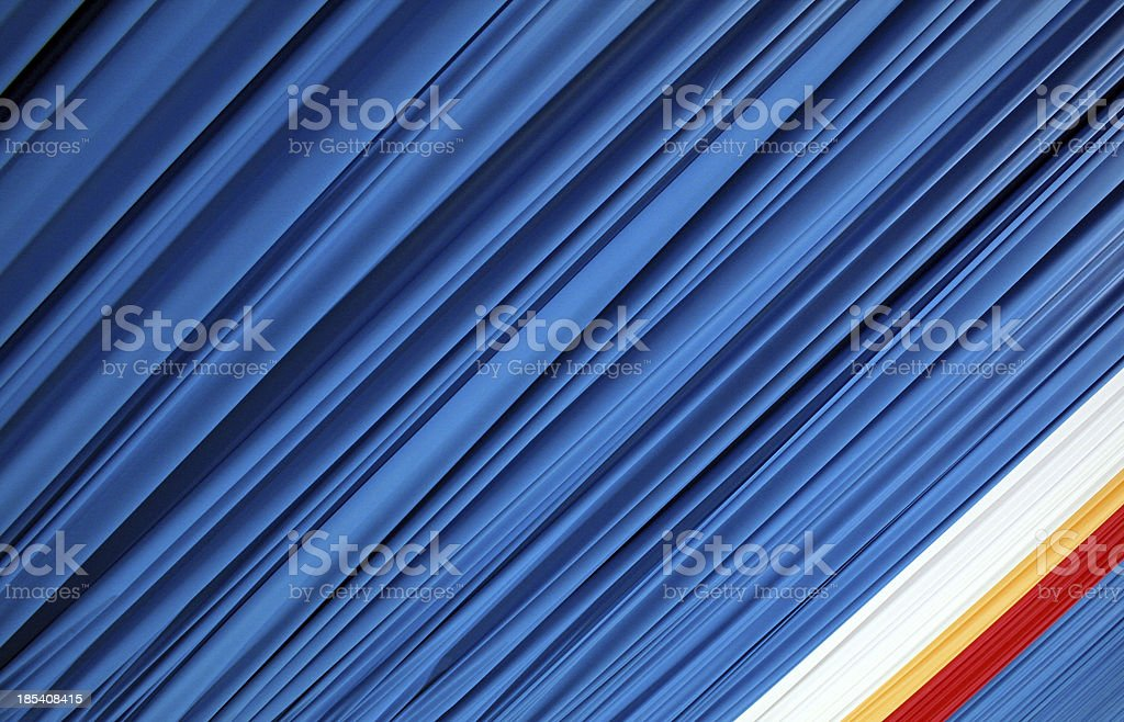 Angled Curtain royalty-free stock photo
