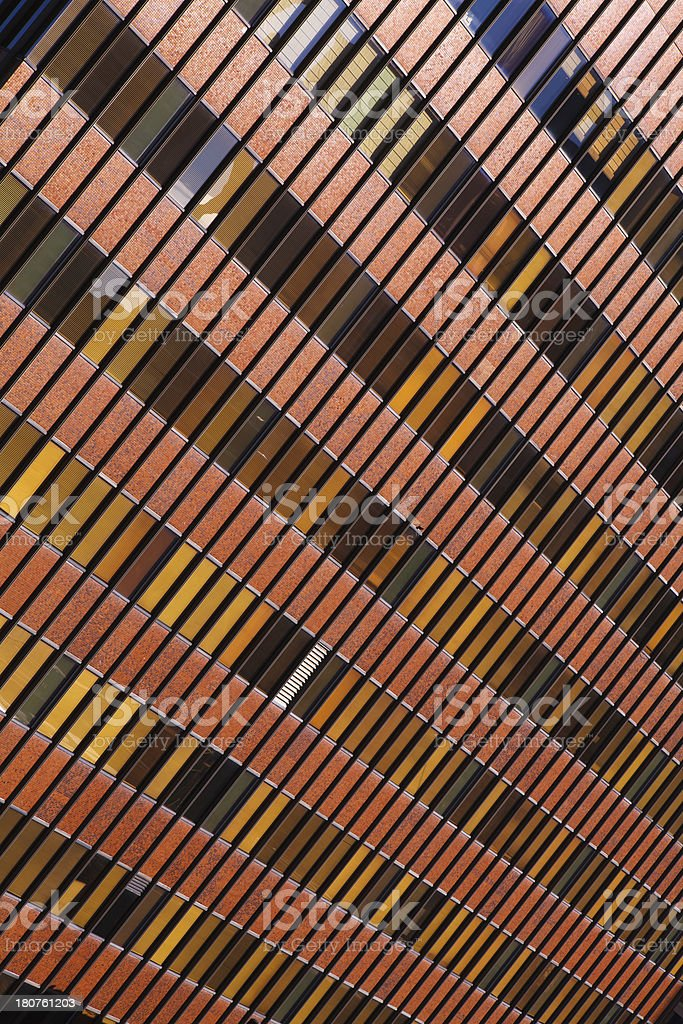 Angled Office Building royalty-free stock photo