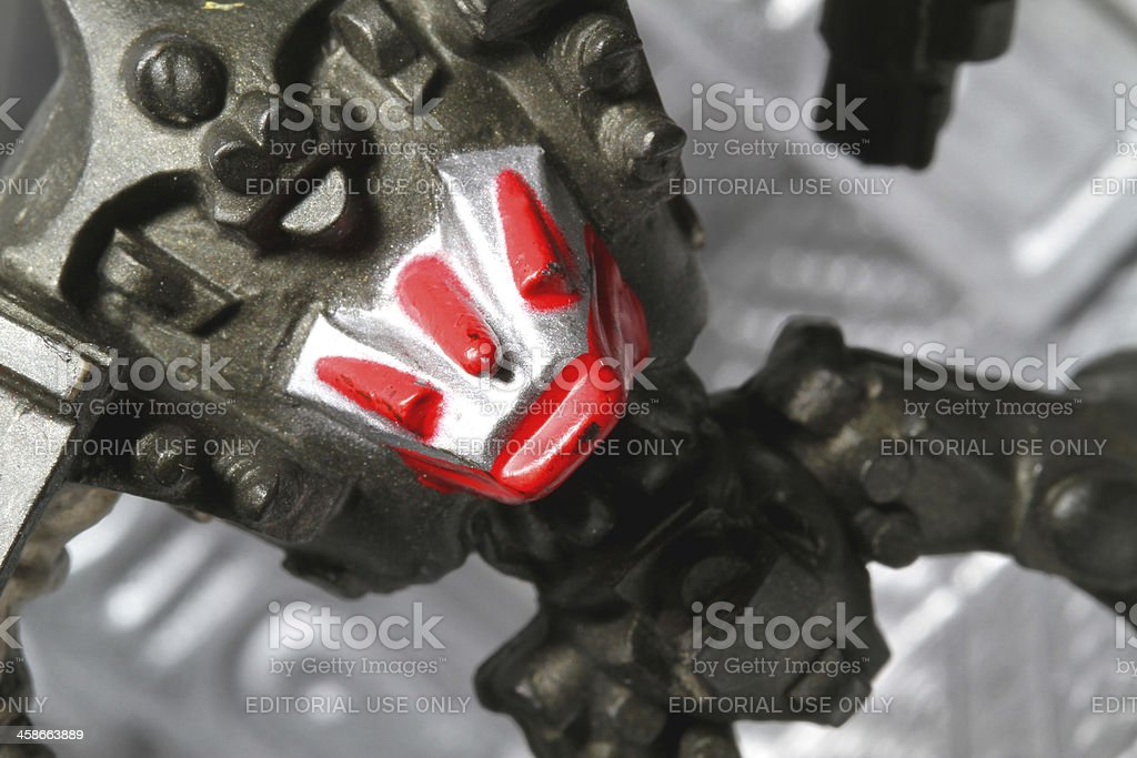 Angled Robot stock photo