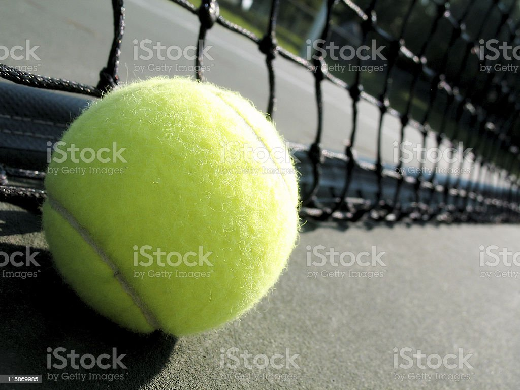 angled tennis stock photo