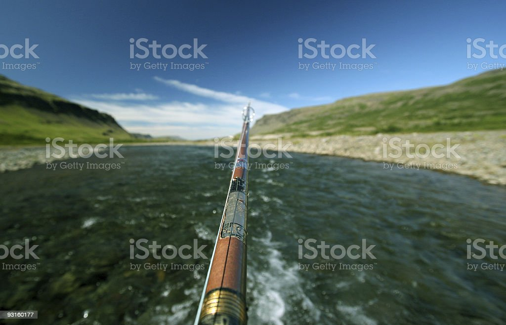Anglers view royalty-free stock photo