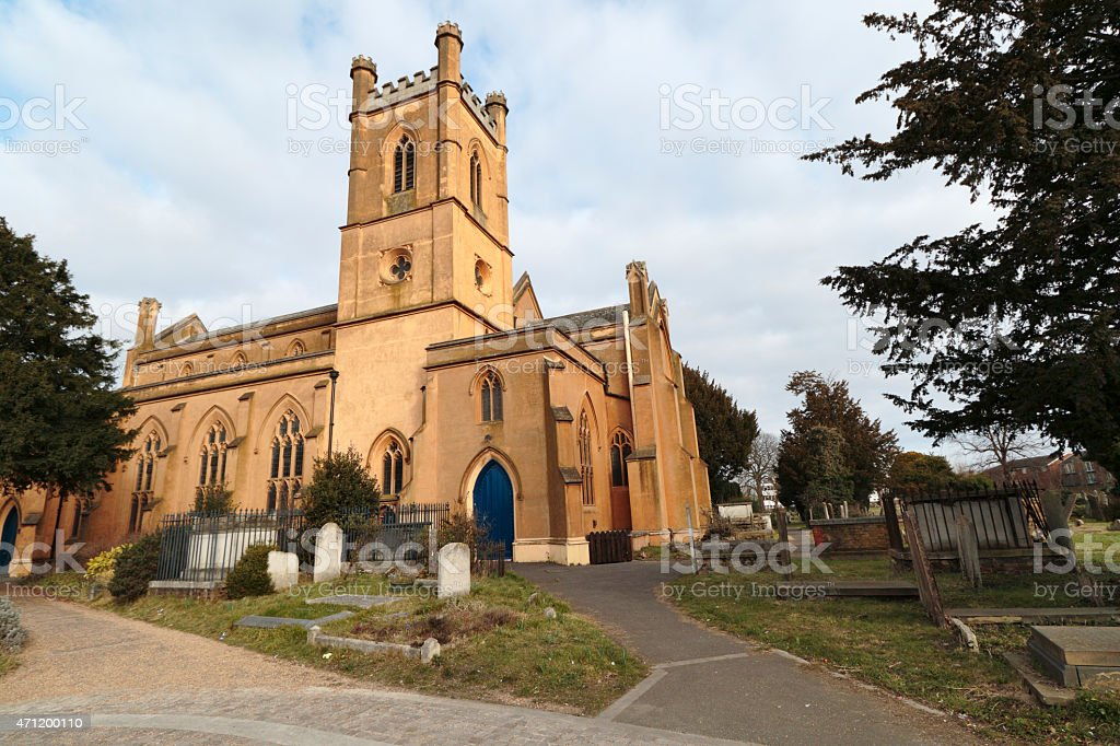 Anglican church of St.Peter and St.Paul Mitcham Surrey stock photo