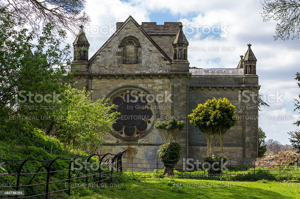 Anglican Holy Trinity Church in Old Wolverton, Milton Keynes stock photo