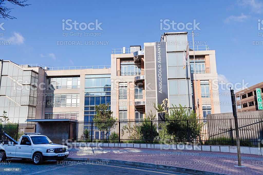 Anglogold Ashanti Building royalty-free stock photo