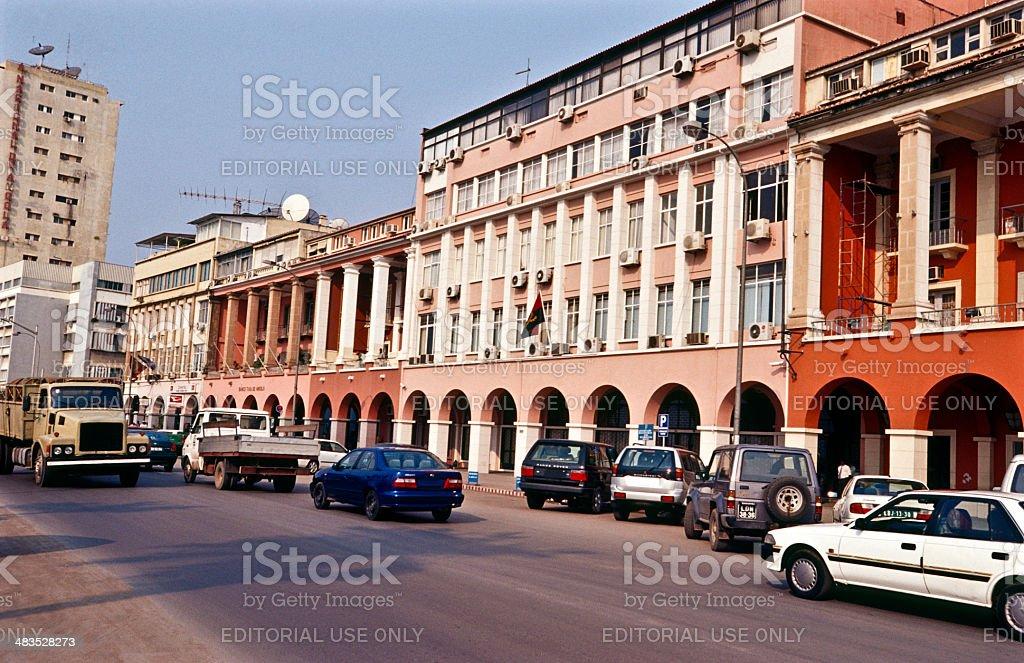 Angola, Luanda, Av. 4 de Fevereiro, the Marginal. stock photo