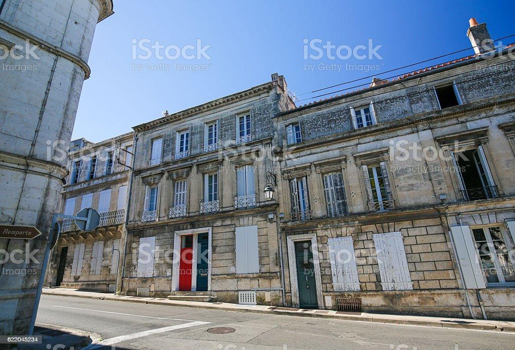 Angouleme, France. stock photo