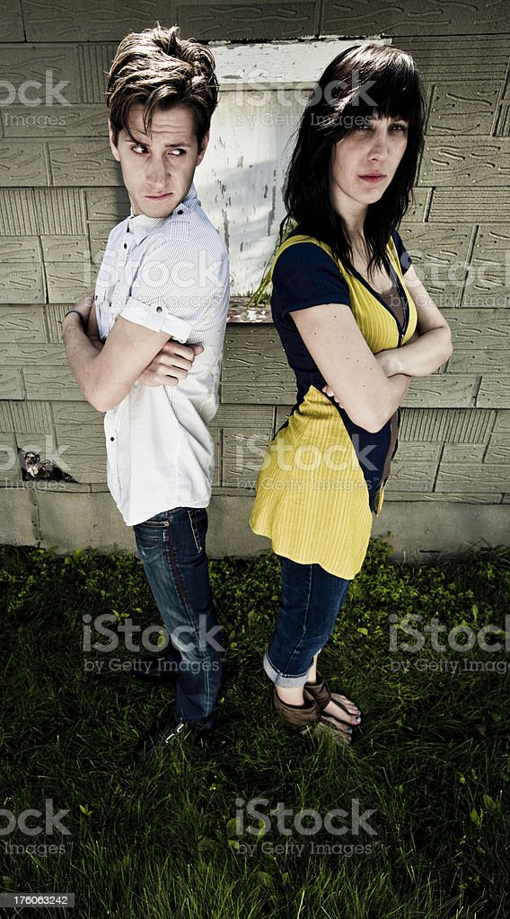 Angry and serious stock photo