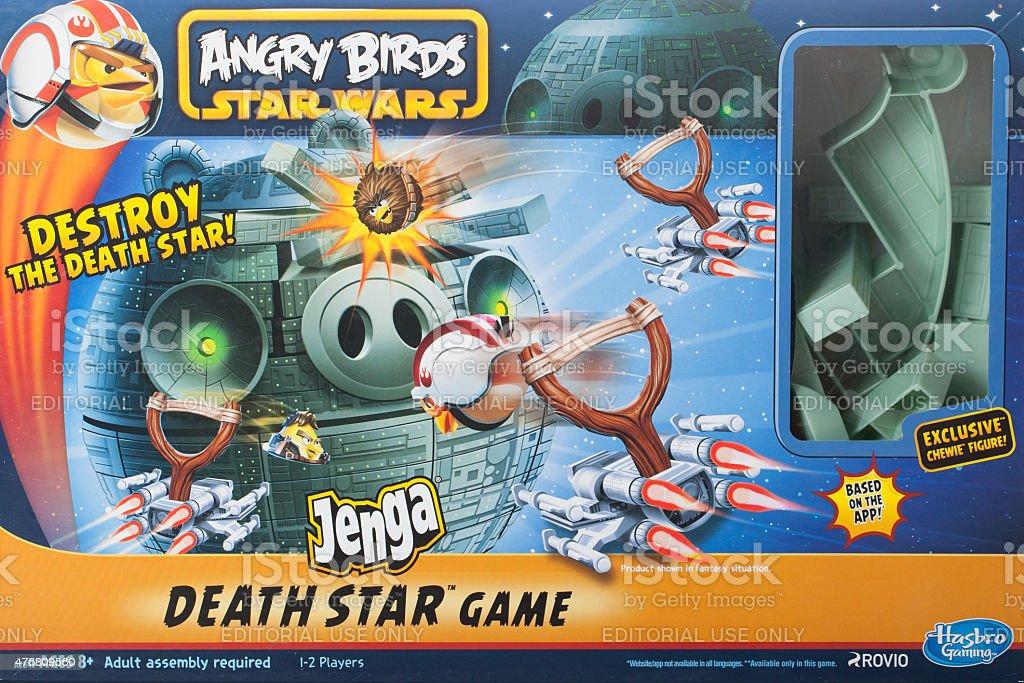Angry Bird Star Wars stock photo