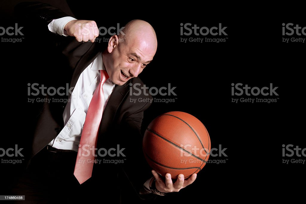 angry business man royalty-free stock photo