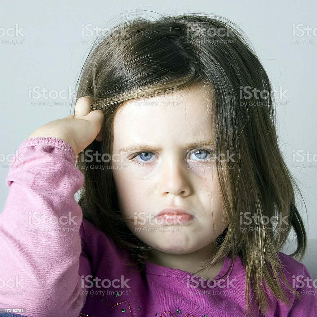 angry child royalty-free stock photo