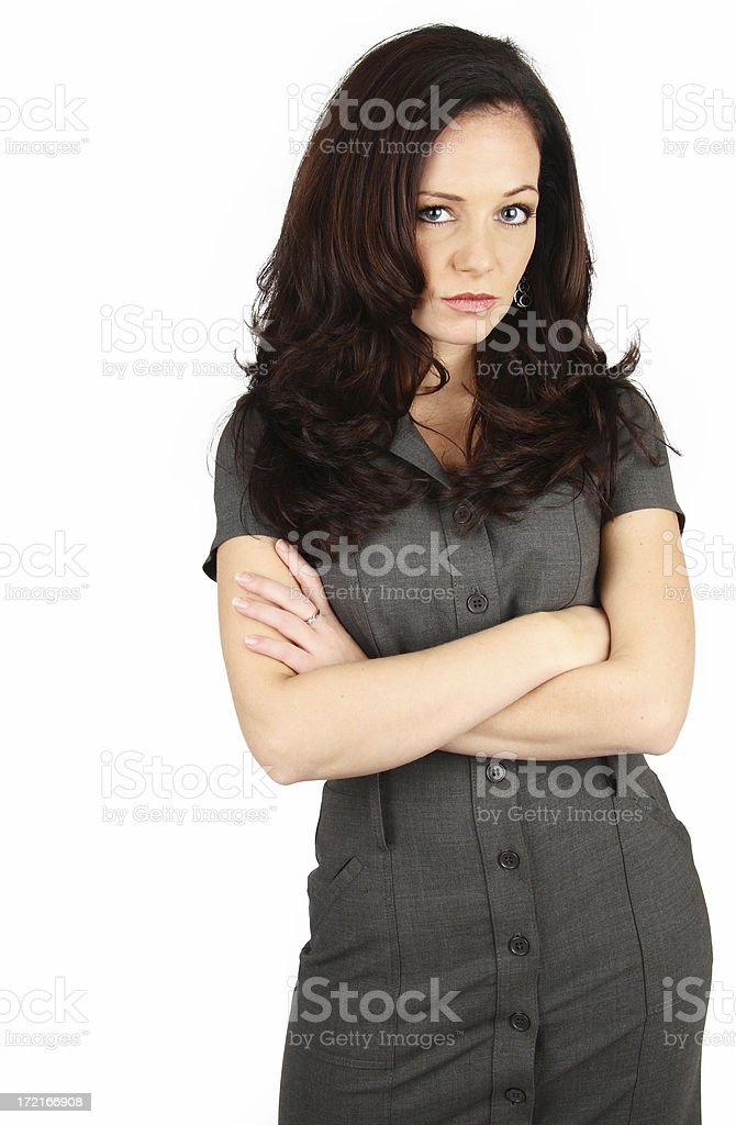 Angry Girlfriend royalty-free stock photo