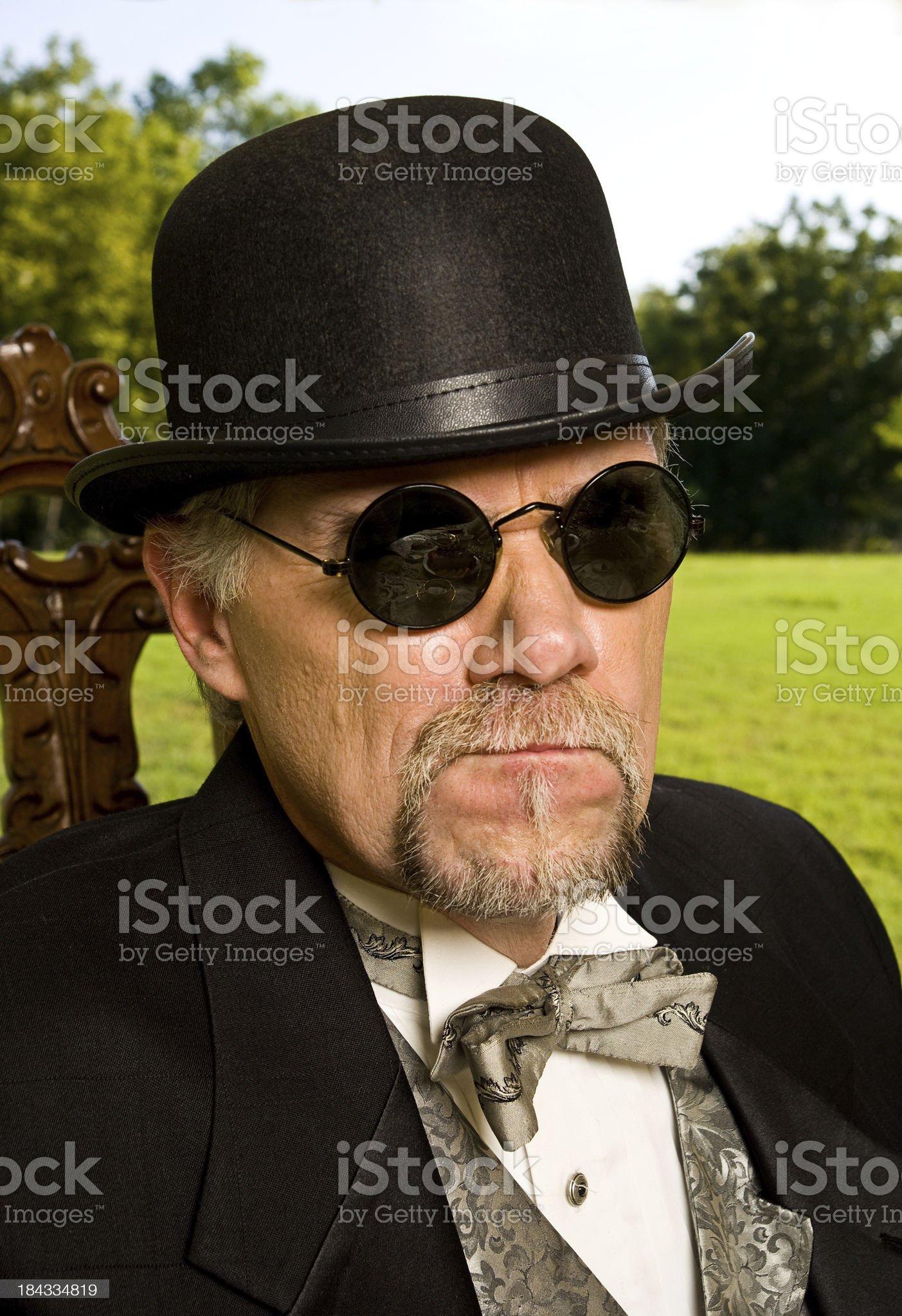 Angry Man royalty-free stock photo