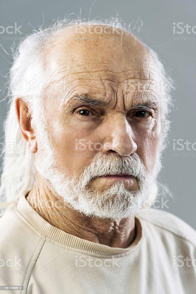 Angry man. royalty-free stock photo