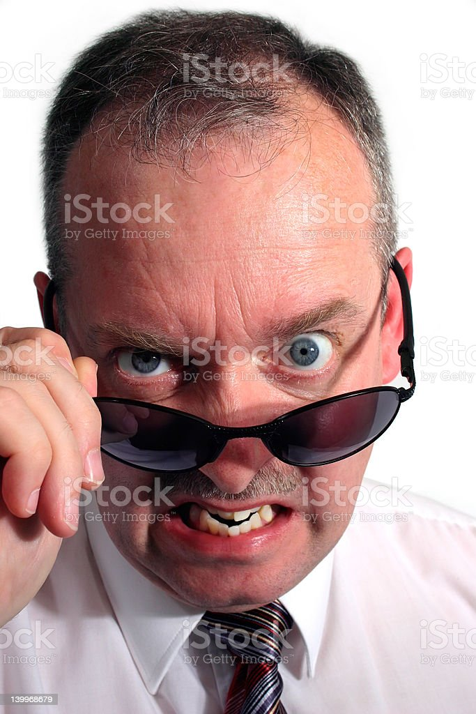 Angry stock photo