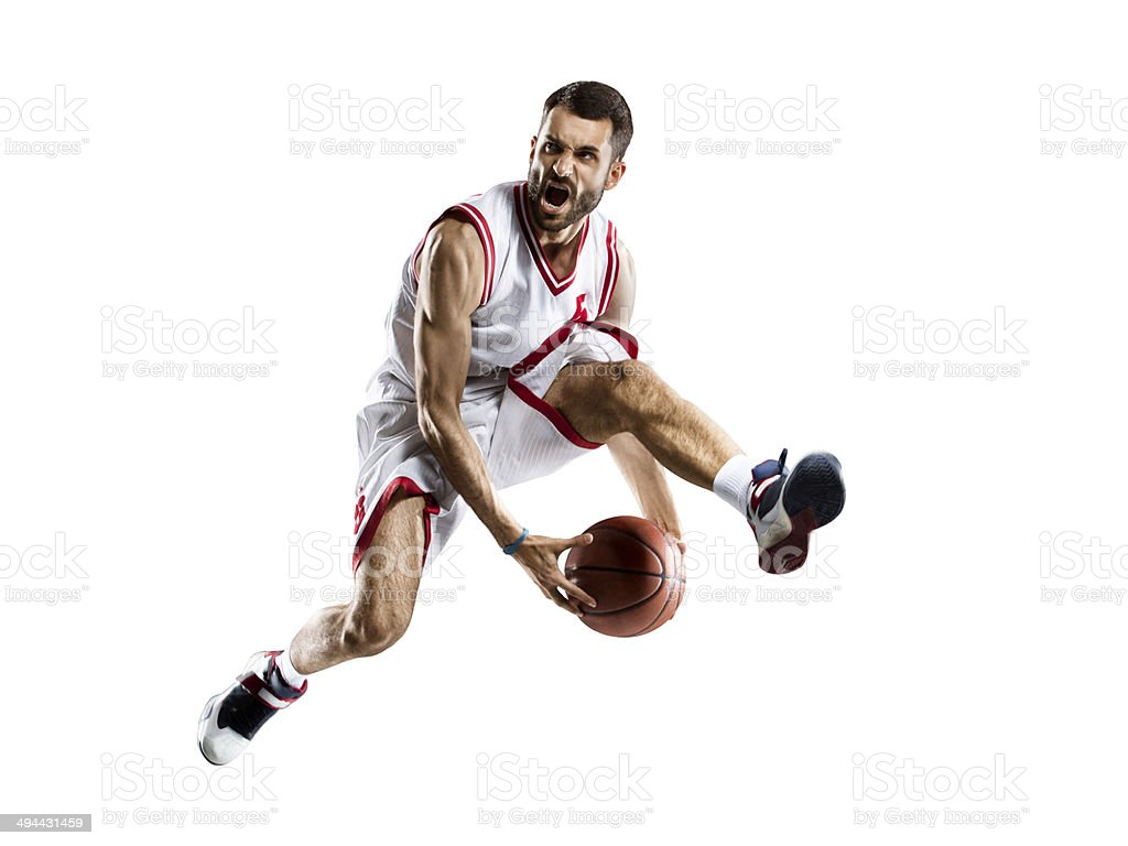 Angry player stock photo