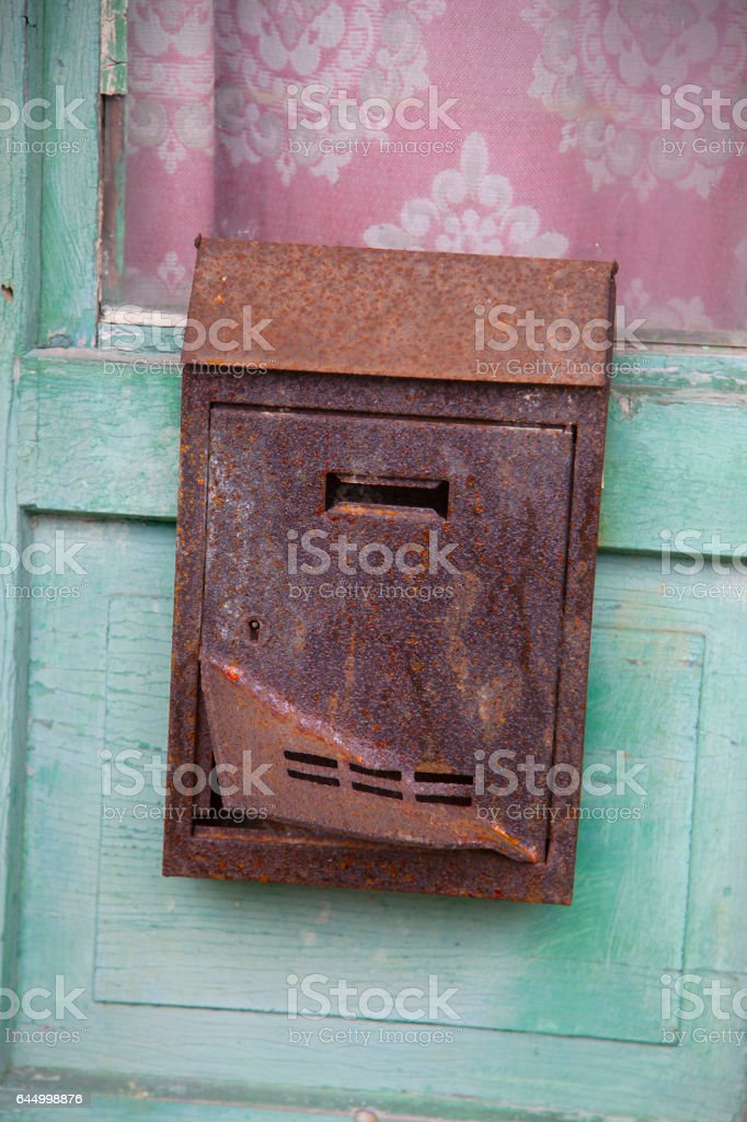 angry postbox stock photo