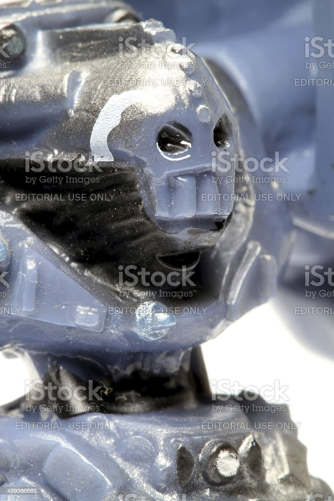 Angry Robot royalty-free stock photo