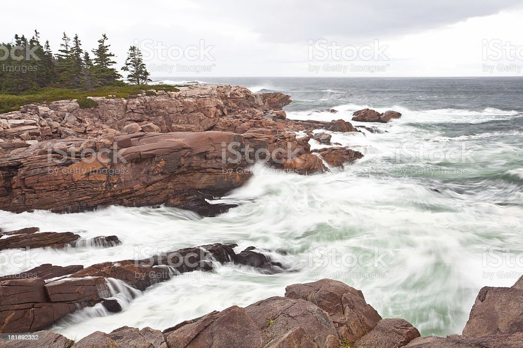 Angry Sea royalty-free stock photo