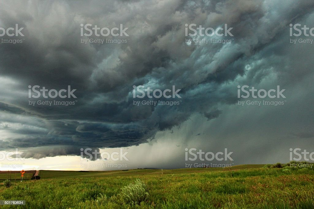 Angry Skies stock photo