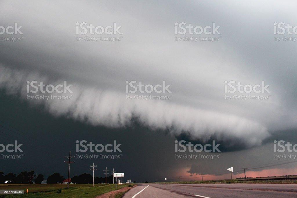 Angry Skies stock photo