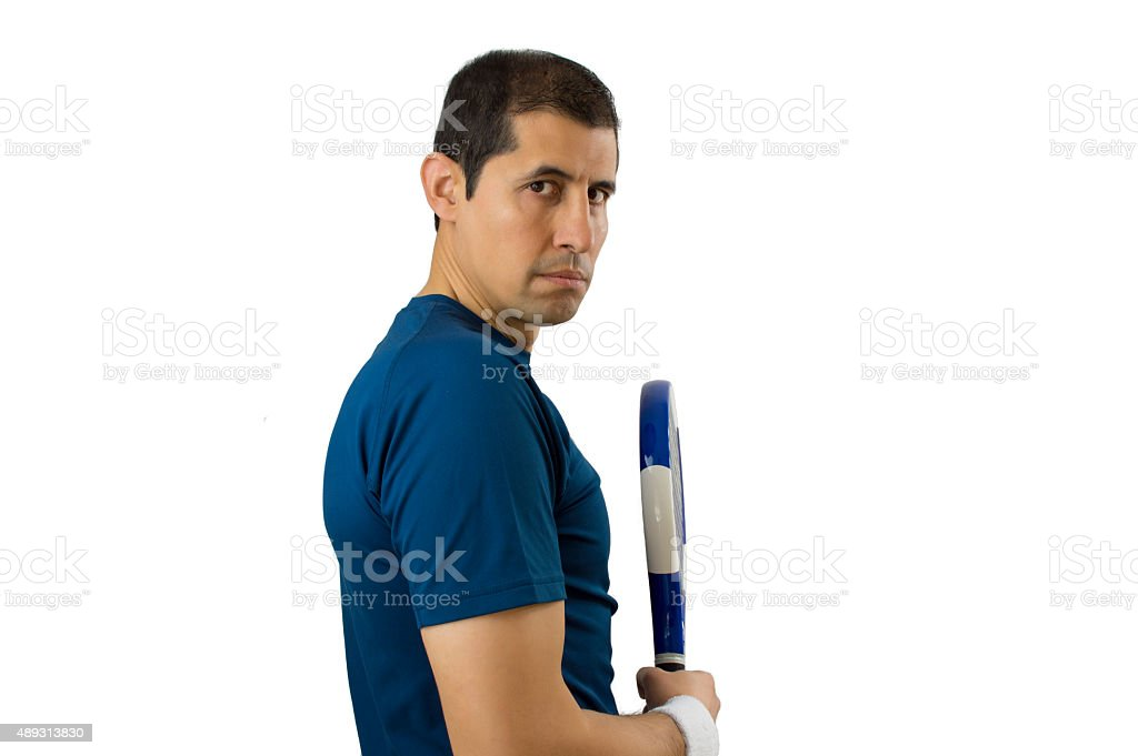 angry sportsman stock photo