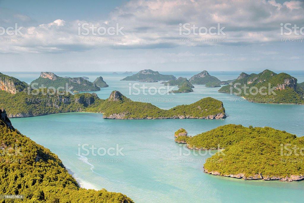 AngThong Marine National Park Viewpoint royalty-free stock photo