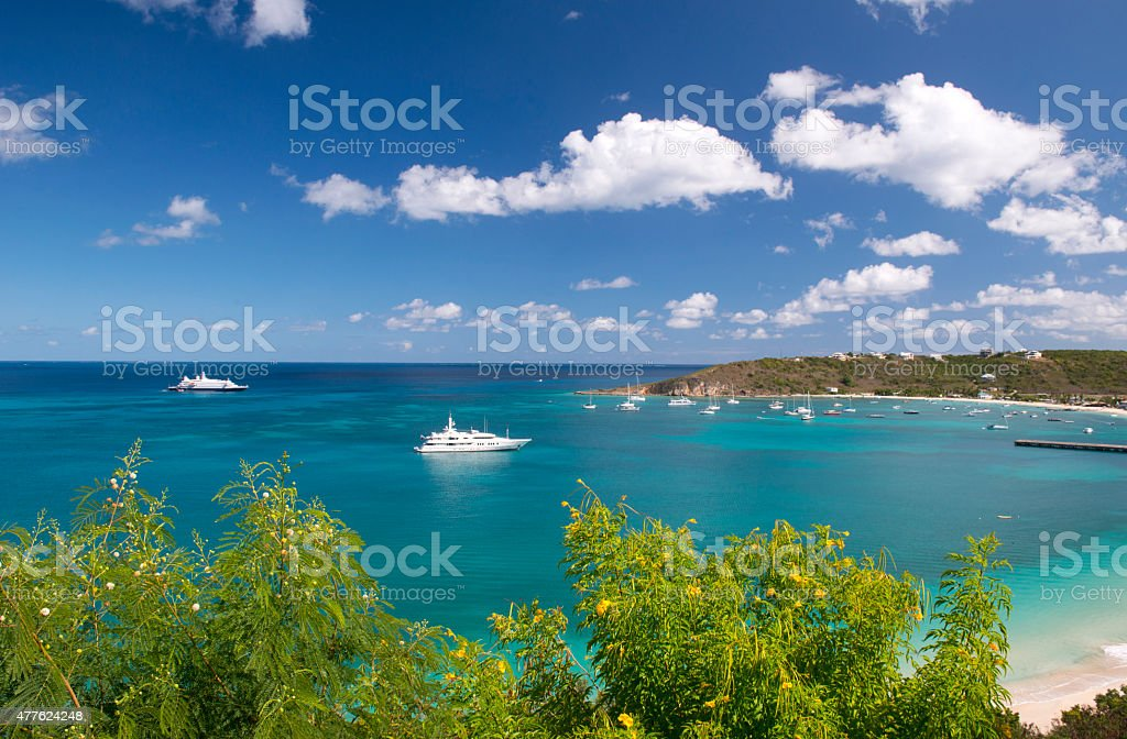 Anguilla island, Caribbean stock photo