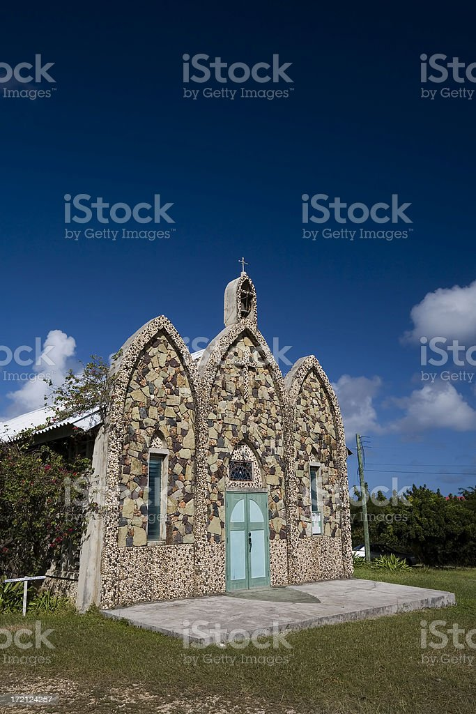 Anguilla Landmark stock photo