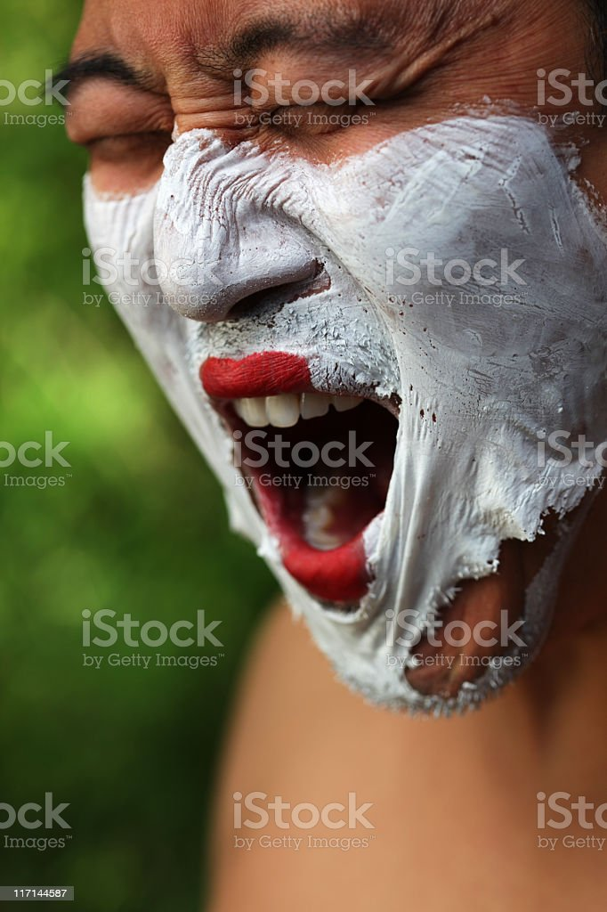 Anguish stock photo