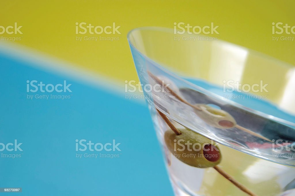 Angular Martini stock photo