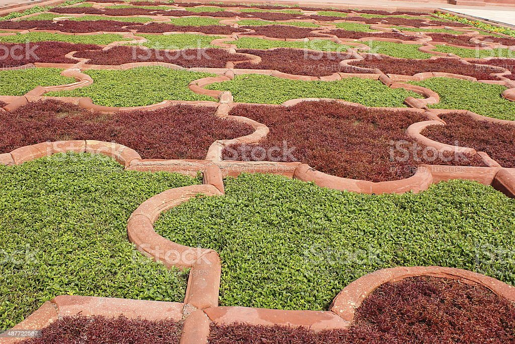Anguri Bagh 'Grape Garden' in Agra Fort, India. stock photo