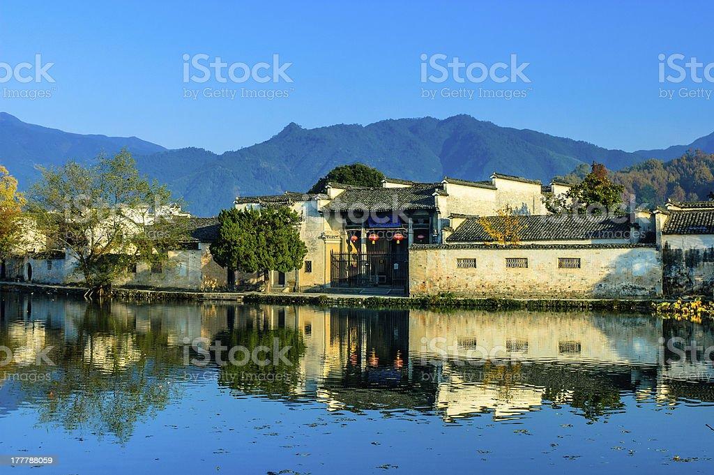 anhui hongcun stock photo