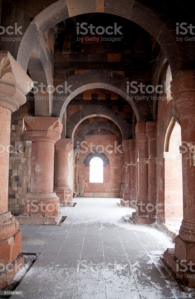 Ani Ruins stock photo