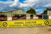 Animal Disease Control Precautions - Closed Farm