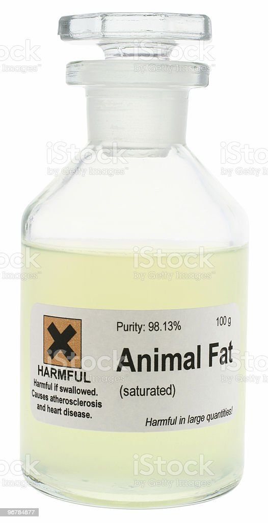 Animal Fat royalty-free stock photo