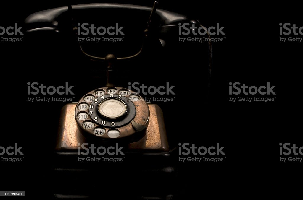 Anique Phone royalty-free stock photo