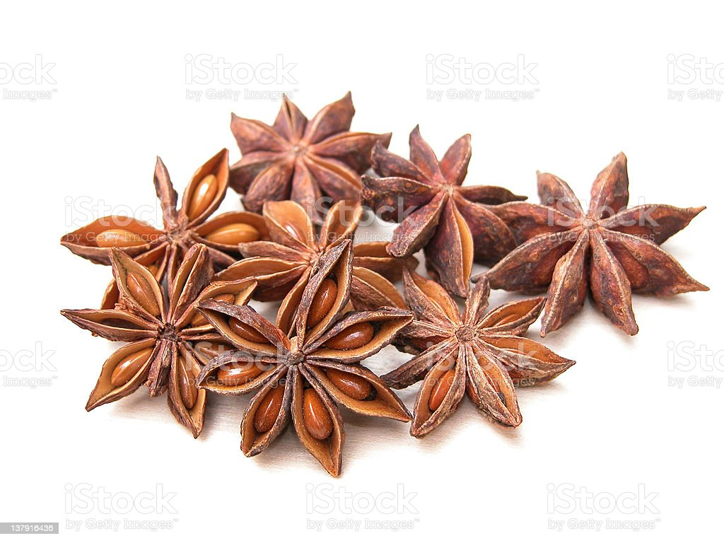 anise stars royalty-free stock photo