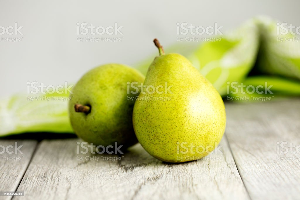 Anjou Pears stock photo