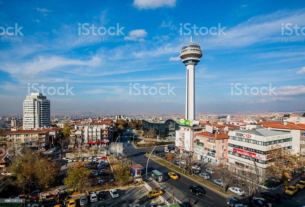 Ankara Aerial View stock photo
