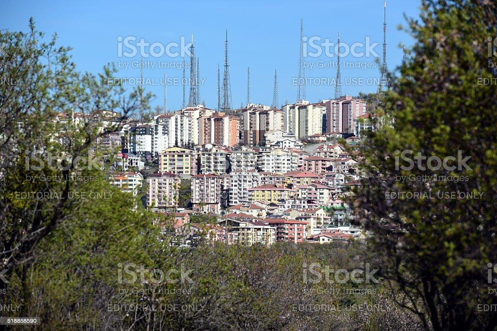 Ankara Dikmen stock photo