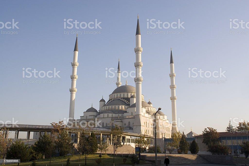 Ankara: Kocatepe Mosque royalty-free stock photo