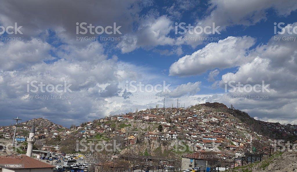 Ankara outskirts royalty-free stock photo